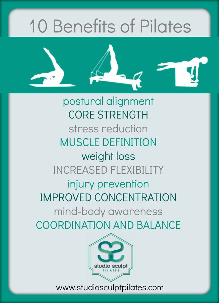 Benefits of Pilates!
