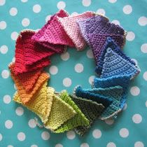Crochet Pattern for bunting ...: O)