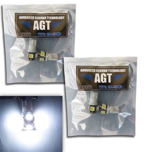 LED replacements for Malibu Landscape light 5 LED SMD SMT 194 T10 Wedge Base Cool White 12V DC/AC 1407WW by AGT. $3.74. 4 AGT Premium LED White Bulbs. Working Voltage: 8-16V AC/DC - Low Voltage transformers only, please double check bulb type and transformer before ordering.. 90-Percent more efficient than incandescent and halogen. Uses five AGT 5050 SMD Chips per bulb giving 360 coverage.. Works in stair lights, deck lights, malibu lights. Replaces the standar...