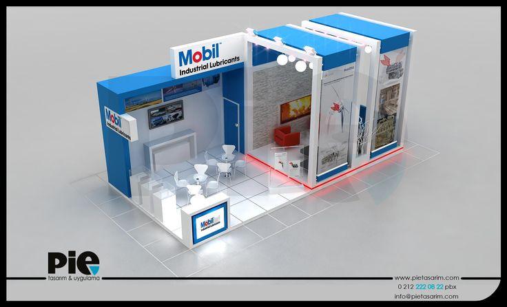 Petrol Fuarı ''MOBİL'' Stand Tasarımımız