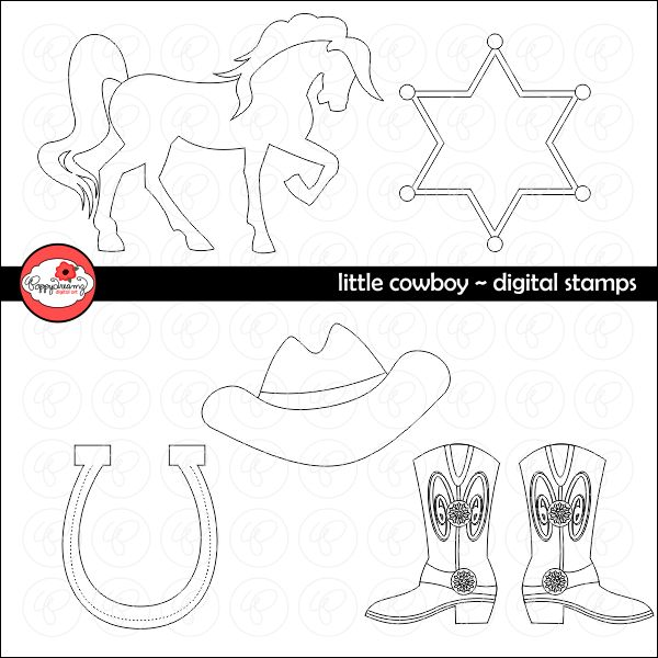 46 best Cowboy & Western Cliparts, Printables and Party