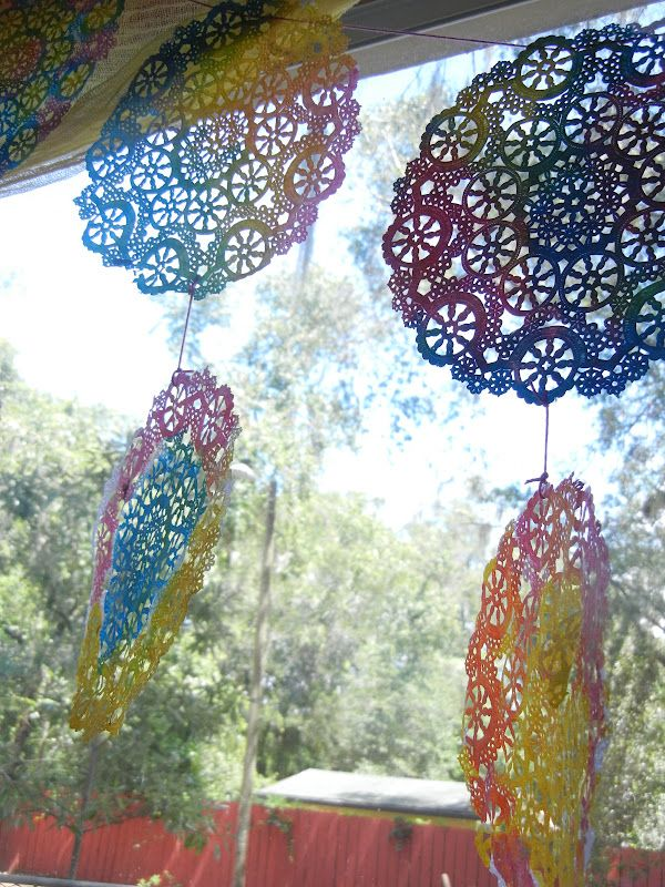 Water color doilies - Imagine Learning Center ≈≈