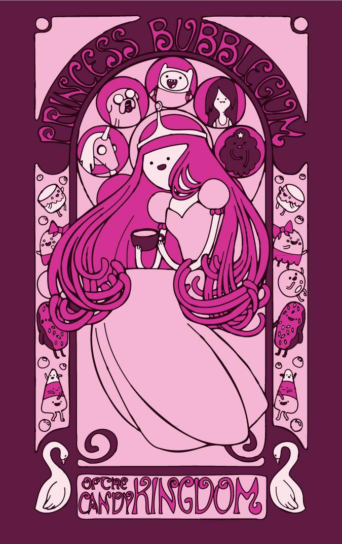 Princess Bubblegum by CapnScribbles.deviantart.com
