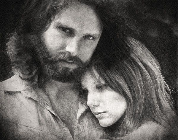 jim Morrison, Pamela courson, the doors, ray manzarek, john densmore, john densmore, rock, psychedelic rock, blues rock, jazz rock, hard rock, acid rock, lsd, love, drawing, mixed media, lizard king, aldous Huxley, poet, poetry, poem, pencil, taylan soyturk, fine art america, rock and roll, american, mythic hero, legend, rock star, drug, cult, philosopher, philosophy, traditional art,  27 club