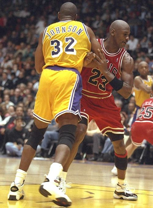The Rematch  Chicago's 99-84 road win over the L.A. Lakers — with Michael Jordan and Magic Johnson meeting on the court for the first time since Game 5 of the 1991 NBA Finals. The game sets a record as the highest-rated NBA game ever on cable TV.
