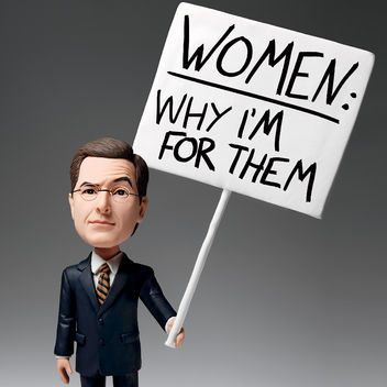 Stephen Colbert Shares Why He Thinks Women Should Be in Charge of Everything: Glamour.com