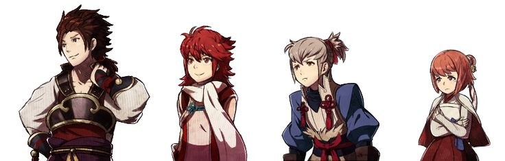 fire emblem fates | Tumblr HOSHIDO ROYAL FAMILY WHEN THEY WERE YOUNGER