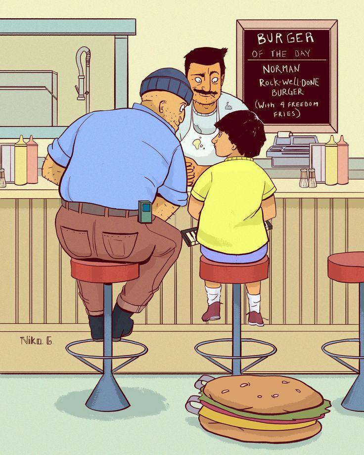 Behind Bob's Burgers : Photo