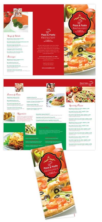 restaurant brochure templates - 35 best images about brochure food on pinterest