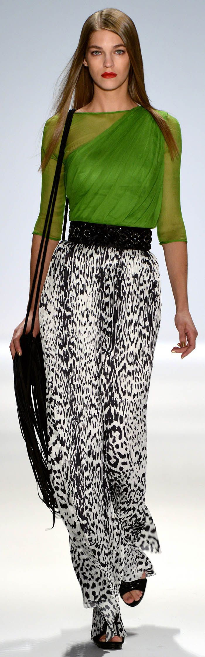 My Favorite Runway Fashions from Carlos Miele Spring Summer 2013 Ready-To-Wear Collection