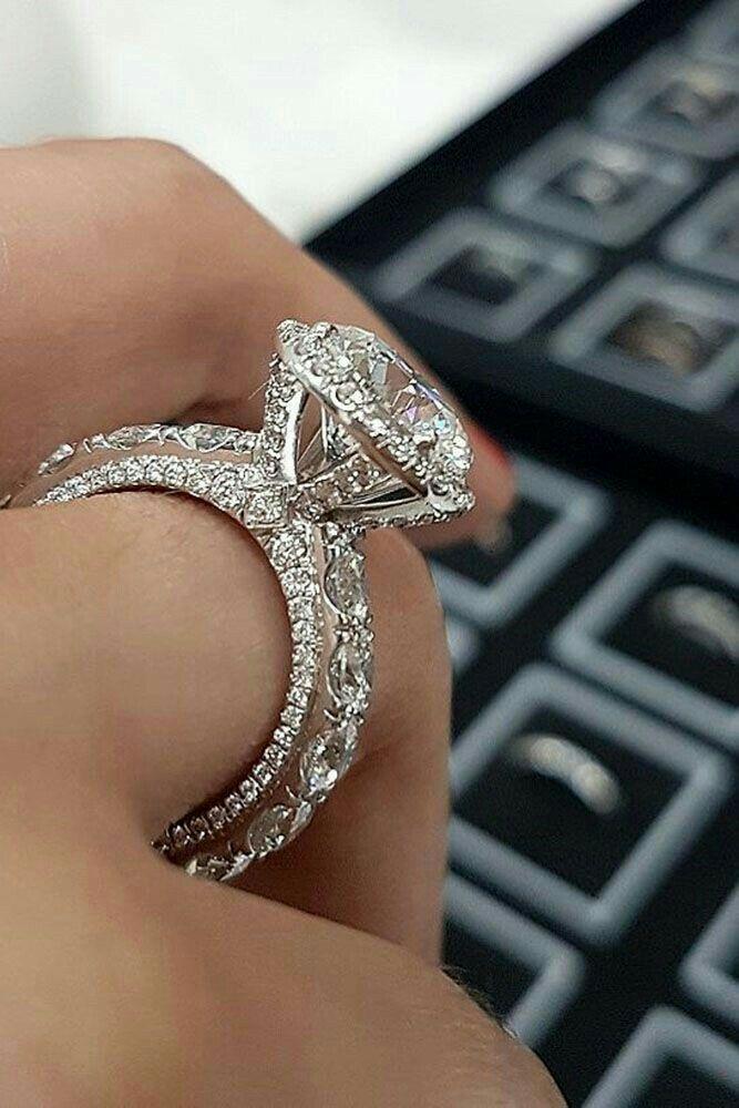Wedding Ring Womens Engagement Rings Beautiful Wedding Rings Round Diamond Engagement Rings