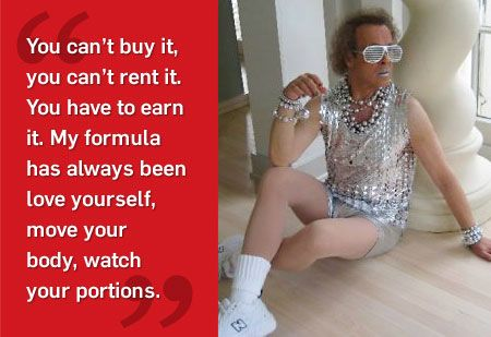 MH Interview with Richard Simmons | Men's Health