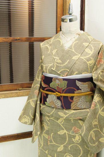 Beautiful kimono and obi
