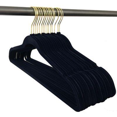 Rebrilliant Ultra Thin, Non-Slip Hangers Color: