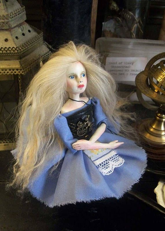 Steampunk Alice Art Doll.  Black Friday to Green Monday