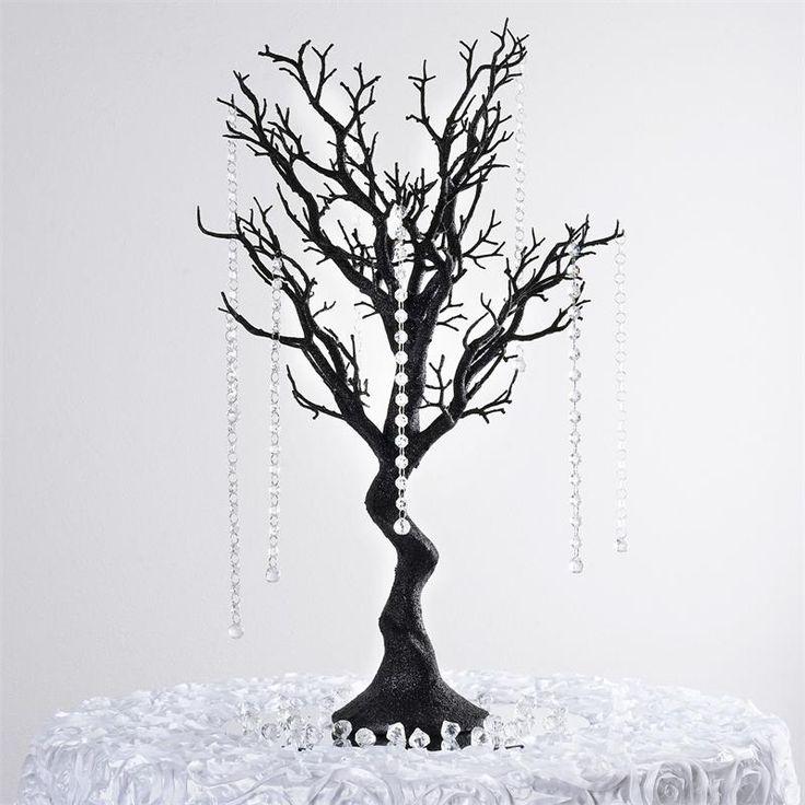 "30"" Vogue Manzanita Centerpiece Tree - Black | eFavorMart"