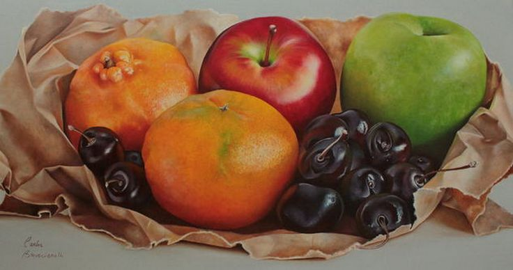 Imágenes Arte Pinturas: Galería bodegones con frutas pinturas óleo