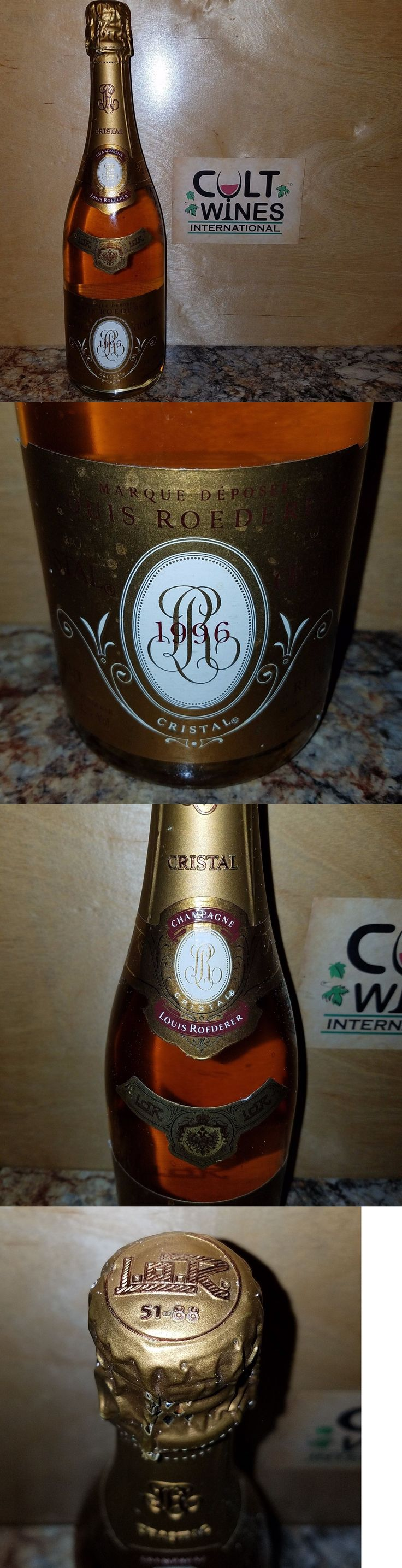 Champagne and Sparkling Wines 26272: V 97 Pts! Rp 96! 1996 Louis Roederer Cristal Champagne -> BUY IT NOW ONLY: $479.99 on eBay!