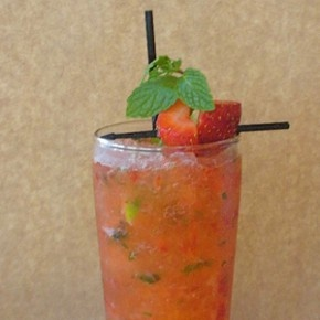 Strawberry Crush Cocktail Recipe