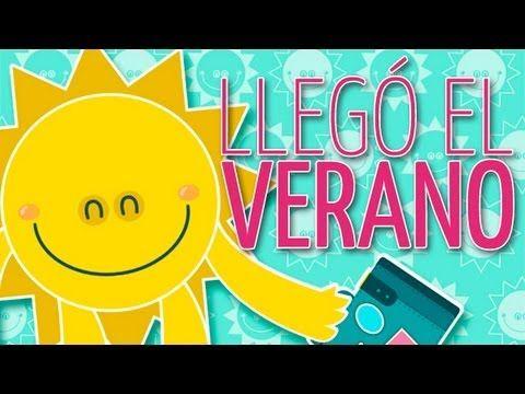 La canción infantil del verano. The summer children's song.