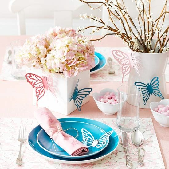 Attractive Amazing Idea Of Spring Table Decoration