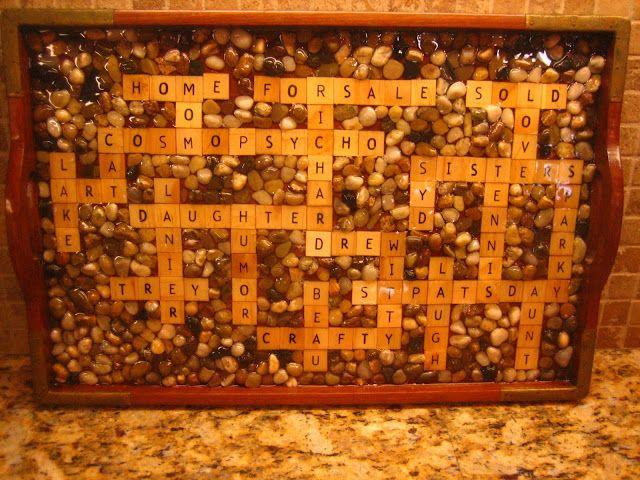 It's a Wonderful Life!   Scrabble tray DYI