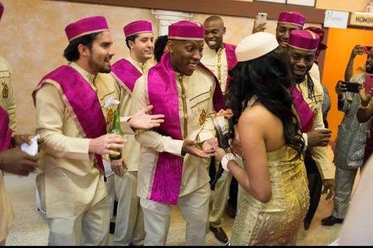 #WhenLiberiaMeetsNigeria   APbride Stella's Traditional Wedding