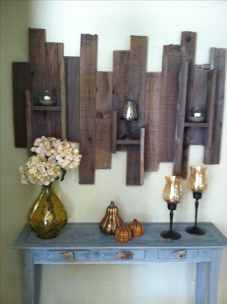 Unique Wood Wall Decor : Scrap wood wall art my goodies i have made
