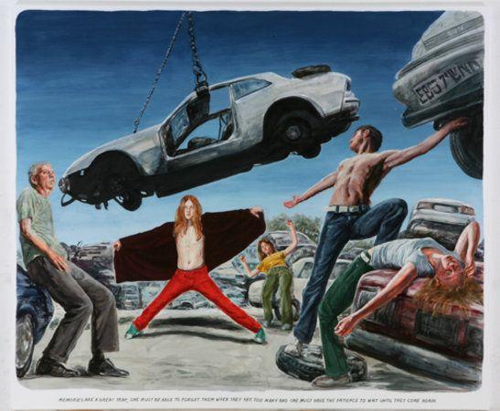 Untitled (Memories are a great trap...)  Muntean/Rosenblum