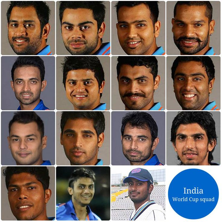UH: India 2015 cricket World Cup squad