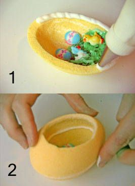 How to make sugar Easter eggs. I made these one year with a mold from AC Moore, they were easy to make.