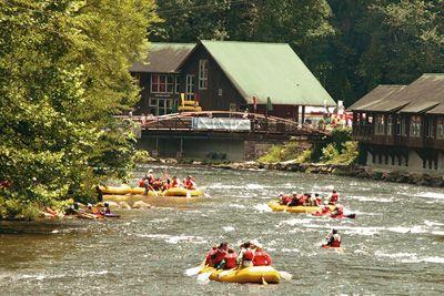 Whitewater Rafting, Nantahala River, Bryson City, North Carolina, USA