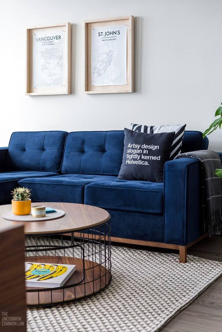 This smaller-scaled condo is home to our colorful Jane Loft Bi-Sectional : gus jane sectional - Sectionals, Sofas & Couches