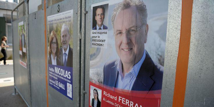 POLITIQUE - Malgré l'affaire Richard Ferrand, La République en marche! est assez largement en tête des intentions de vote pour les élections législatives. PourStéphane Zumsteeg de l'Institut...