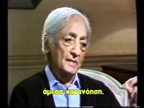 Jiddu Krishnamurti-Interview with Bernard Levin - Greek Subs 1of2 - YouTube