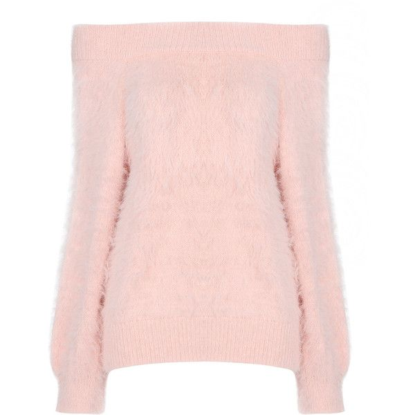 Yoins Pink Off Shoulder Chunky Furry Detail Jumper (43 CAD) ❤ liked on Polyvore featuring tops, sweaters, yoins, shirts, pink, pink top, pink off the shoulder sweater, pink off the shoulder shirt, pink sweater and pink shirts