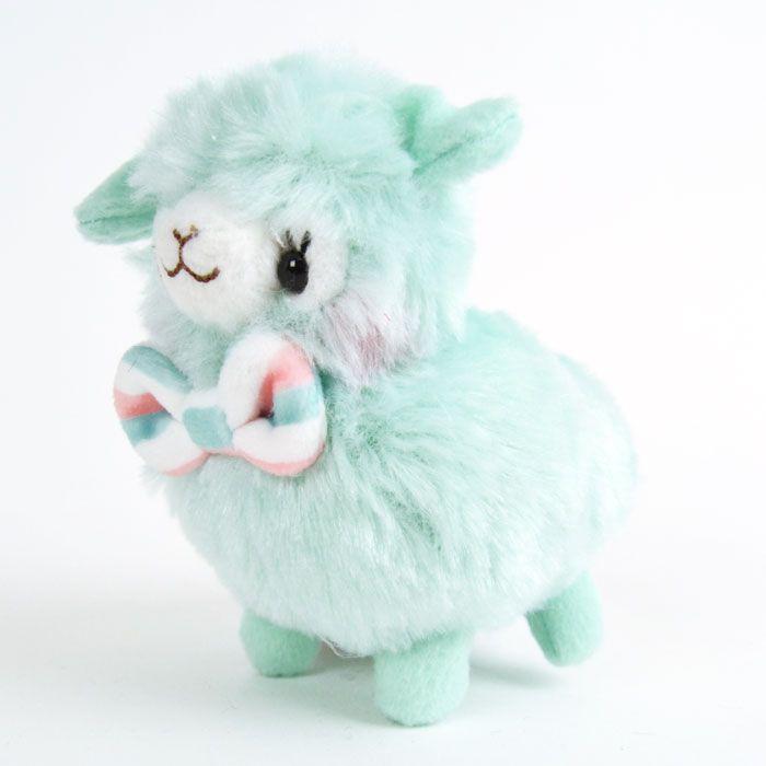 Alpacasso: Kids Alpacasso Fuwamoko pehmomaskotti: minttu (12cm)