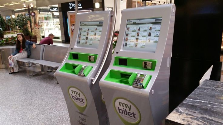 MyBilet Ticketing Kiosk