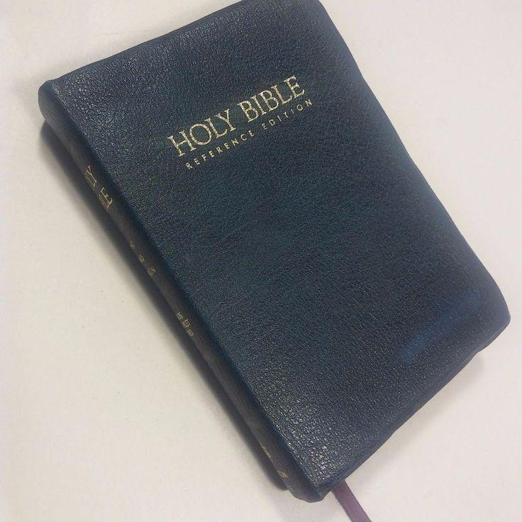 VINTAGE 1972 NELSON KJV King James Holy BibleBlue Leather