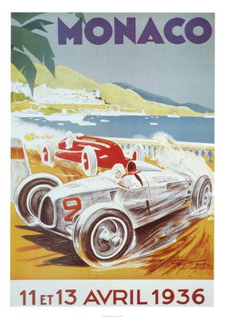 8th Grand Prix Automobile, Monaco, 1936