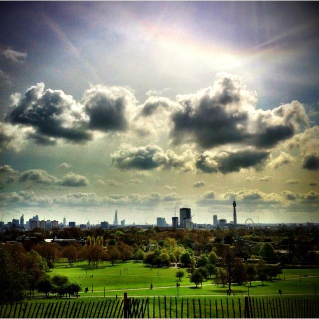 Primrose Hill, London... My old backyard... How I miss it...