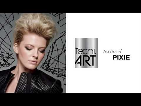 Textured Pixie — How-To Tutorial > > > Follow these steps to create a chic, textured pixie with L'Oréal Professionnel products. Available at Cultures Salon.