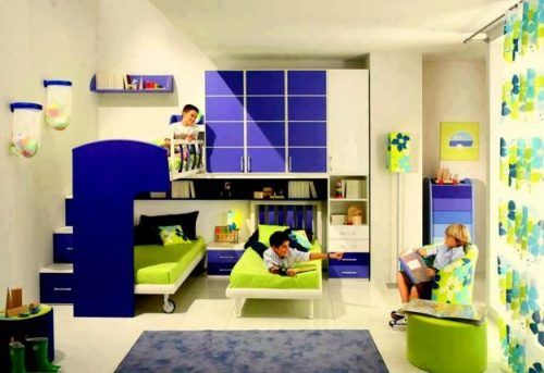 children bedroom designs ... storage furniture and bunk beds ...
