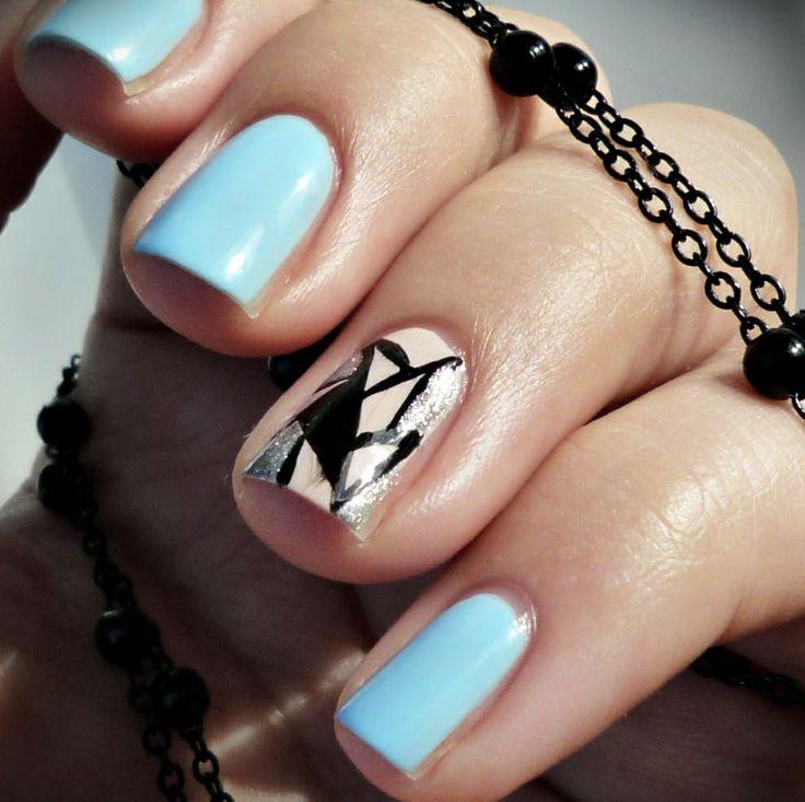 Malý koutek krásy: Bledě modrá & mozaika :)