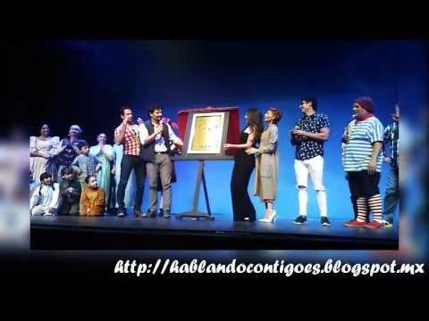 Hablando Contigo Es...: El musical Peter Pan festeja sus 200 representaciones con el elenco de #ElBienamado