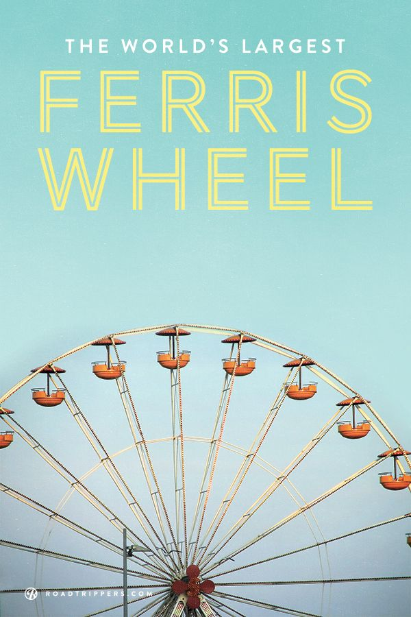 America is home to the world's largest ferris wheel, the High Roller in Las Vegas. Take a ride and enjoy the view.