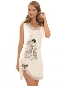 NBB iç giyim Paris Baskılı Gecelik 6160   ÜRÜN FİYATI  : 23.06 TL + KDV