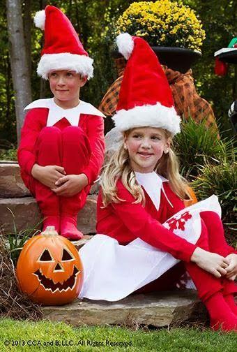Frugalicious Marie: DIY Elf on the Shelf Costume for Halloween!