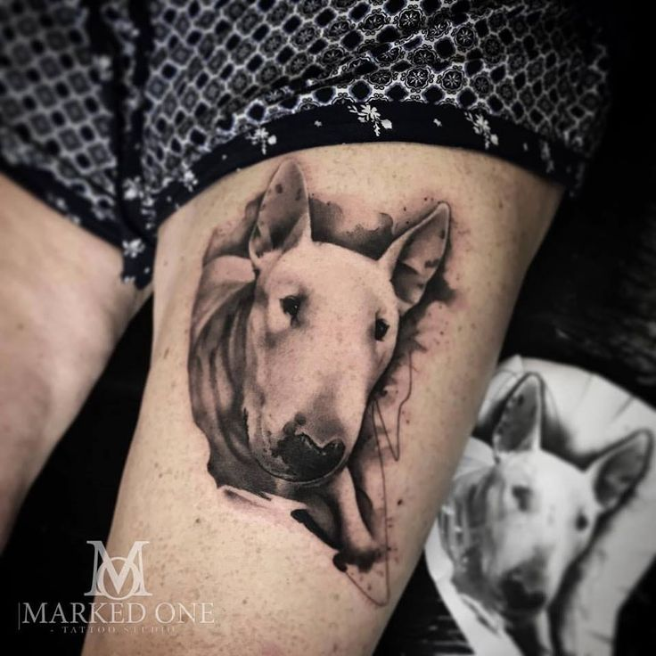 the 25 best bull terrier tattoo ideas on pinterest dog tattoos puppy tattoo and face tattoos. Black Bedroom Furniture Sets. Home Design Ideas