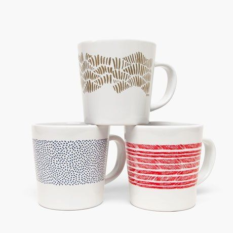 Time for Tea! Modern Teacups, Mugs & Saucers